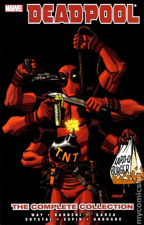 deadpool by daniel way the complete collection volume 1 deadpool the complete collection tpb 2013 marvel by