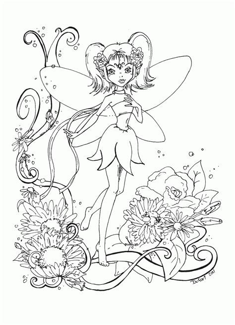 fairies for adults printable coloring pages coloring home