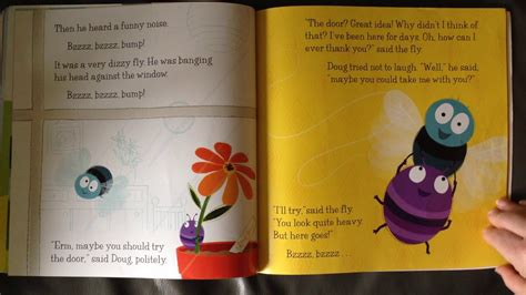 doug the bug doug the bug that went boing by sue hendra story read