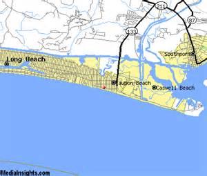 oak island carolina map oak island vacation rentals hotels weather map and