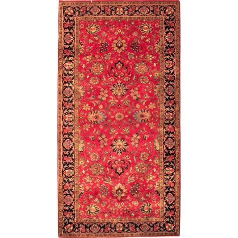 rug 4 x 7 size 4 2 x 7 8 and navy kashmar wool rug from india
