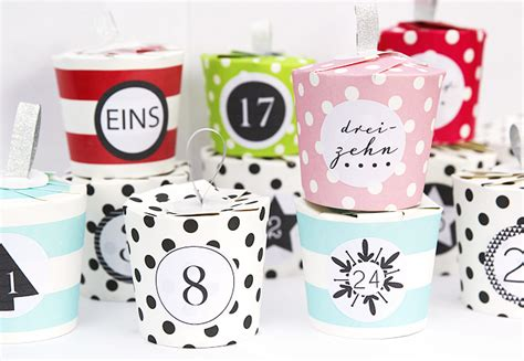 Mini Sticker Drucken Lassen by M 233 L I M 233 L O Adventskalender Bef 252 Llen