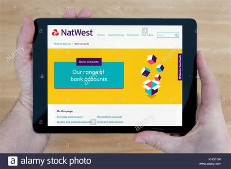 reset natwest online banking natwest screen stock photos natwest screen stock images