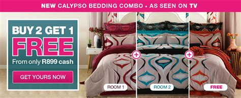 calypso bedding combo buy 2 get 1 free homechoice