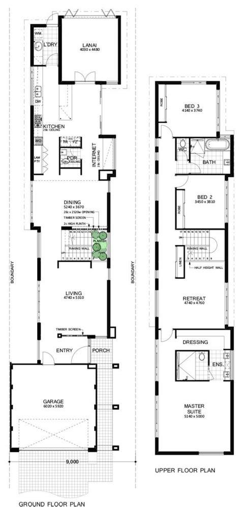 narrow block floor plans best 25 narrow house plans ideas on pinterest narrow
