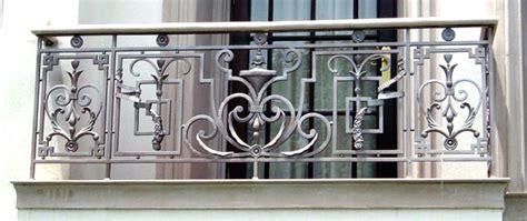 balkongitter edelstahl balkongel 228 nder geschmiedet sonderanfertigung designidee