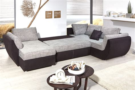 g nstige couchen in u form 395x210 u form schlafsofa sofa