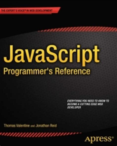 javascript tutorial for programmers javascript programmer s reference free download ebook pdf