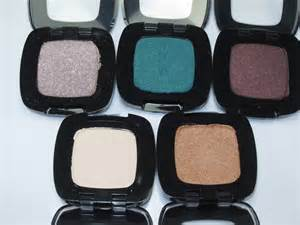 l oreal color riche eyeshadow l oreal colour riche monos eyeshadow review swatches