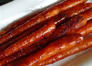 roasted glazed carrots w pomegranate molasses ras el hanout