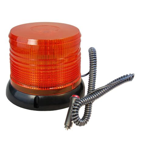 magnetic strobe lights hqrp 12v emergency hazard warning magnetic base beacon led strobe lights ebay