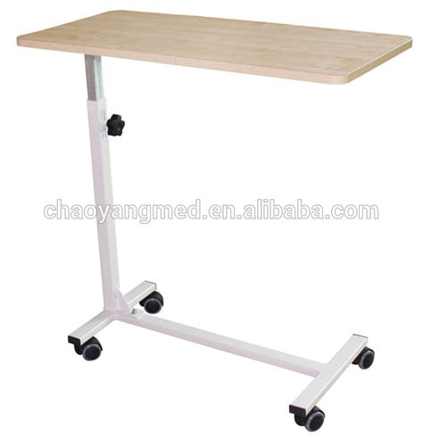 hospital bed tray hospital bed tray table over bed table with wheels