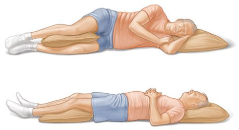 Pillow In Between Legs While Sleeping by The One Sleeping Position To Always Avoid And What To Do