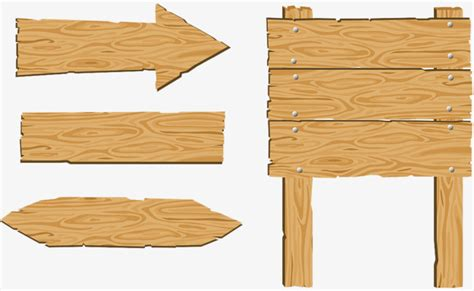 woodworking indicator wood sign sign board indicator arrow png image for free