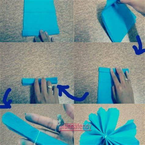 tutorial buat bunga kertas diy tutorial buat bunga dari kertas tisu