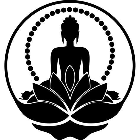 Wall Transfer Stickers buddha silhouette sticker cheap wall stickers discount