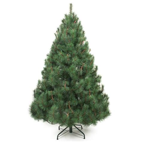 7ft rocky mountain pine tree mountain pine green artificial tree 6ft 7ft garden trends