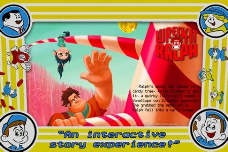wreck it ralph storybook deluxe (ios) review | brutal gamer
