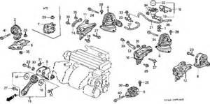 honda store 1991 accord engine mount parts