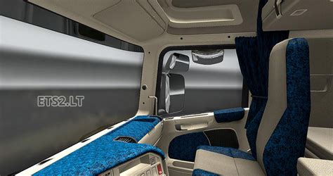 Seats Upholstery by Scania R2008 Interior Ets 2 Mods
