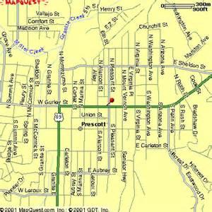 map prescott arizona 301 moved permanently