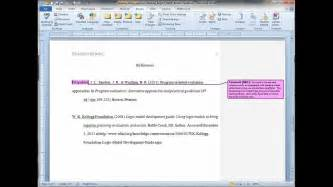 annotated reference list apa exle