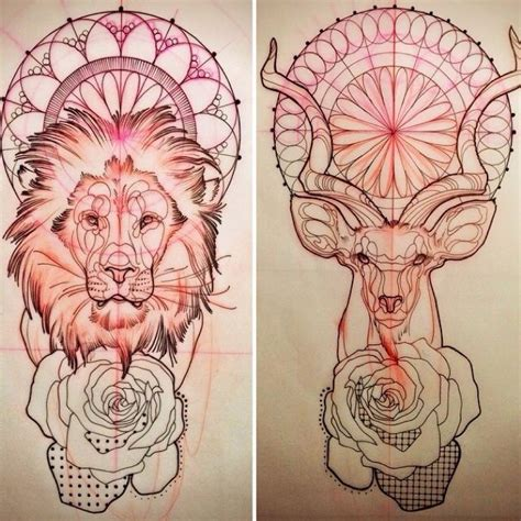 25 best ideas about geometric deer on pinterest deer the 25 best geometric tattoo animal ideas on pinterest