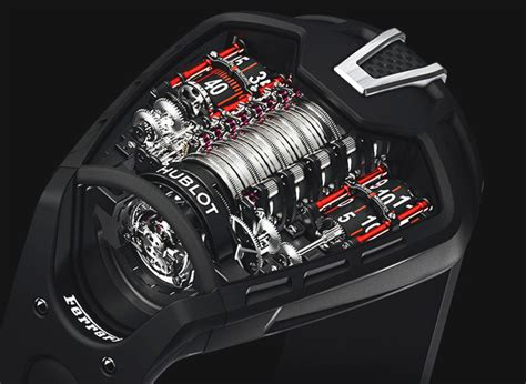 Hublot Ferrari by Ferrari Watches Hublot Ferrari Fusion Of 2 Luxury Brands