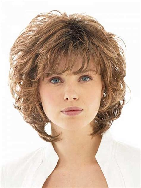 layered haircut for fat faces 13 best short layered curly hair layered curly hair