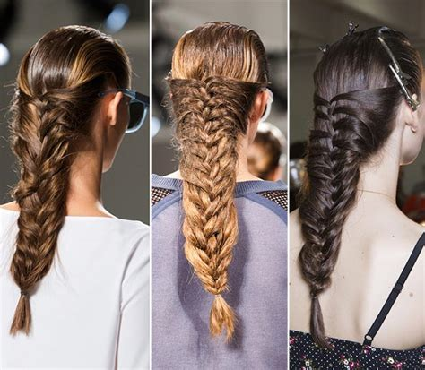 show spring 2015 fashion and hair trends for 65 year old women 2017 braided hairstyles from fashion shows hairstyles