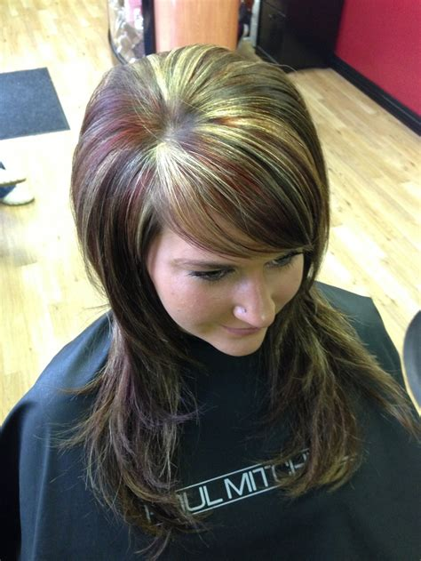 Red Hair All Over | 25 best ideas about all over highlights on pinterest