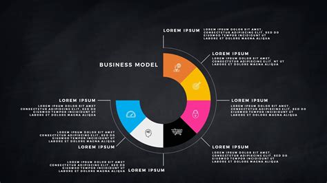 Infographic Business Model Presentation For Powerpoint Template Model Powerpoint Presentation Templates