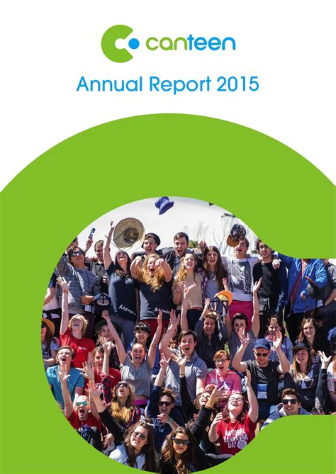 canteen annual report 2015 by canteen australia issuu
