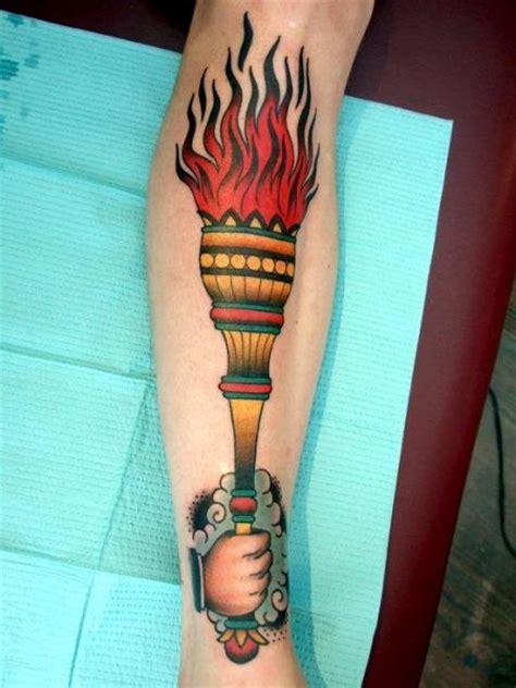 tattoo meaning torch arm new school flame tattoo by three kings tattoo