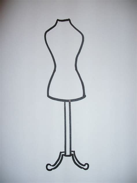 dress form template how to draw a dress form ehow uk