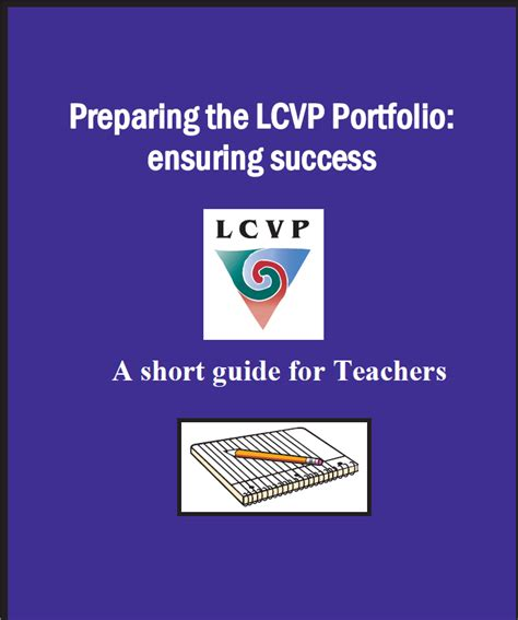 action plan layout lcvp lcvp portfolio pdst