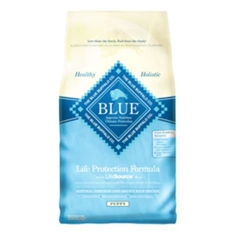 blue buffalo life protection formula puppy chicken & brown