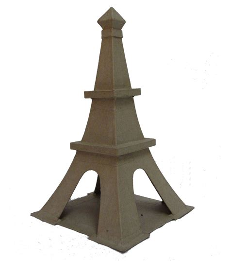 How To Make A Paper Eiffel Tower - buttercream collection paper mache eiffel tower jo