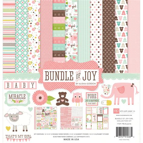 Paper Kit For - echo park paper company bundle of collection kit