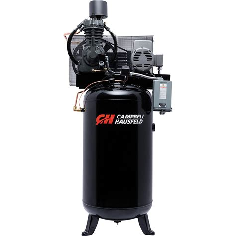 free shipping cbell hausfeld fully packaged air compressor 7 5 hp 24 3 cfm 175 psi