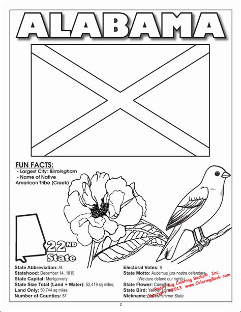 coloring pages alabama coloring pages   ages