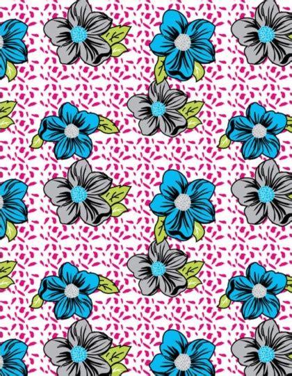 cute handpainted pattern cute floral vectors seamless pattern material vector