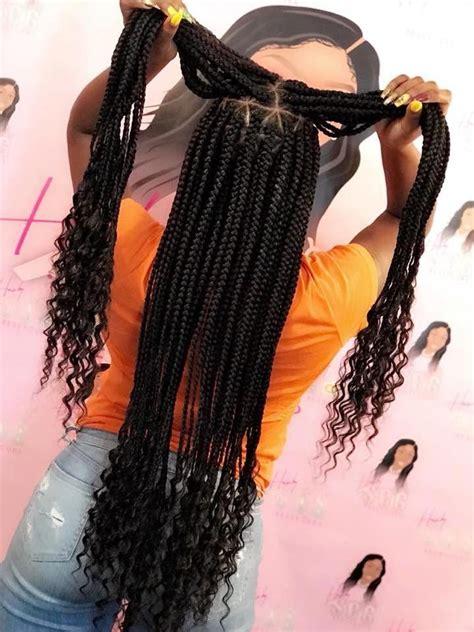 box braids instagram atbenjada blackhairstyles box