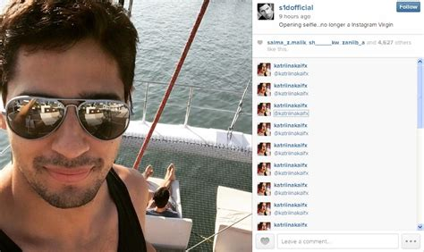 bio instagram jadi di tengah selfie sidharth malhotra di tengah laut ganteng mus
