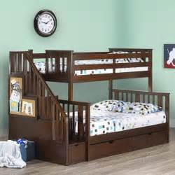 costco bunk beds white bunk beds with stairs bed home design ideas