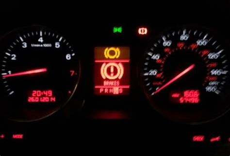 audi tt warning light audi a6 c6 why is brake light on audiworld