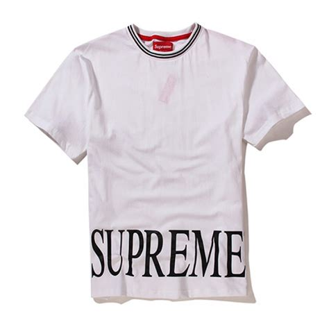 T Shirt Supreme To Supreme Include Packaging Limited 1 supreme plain big text t shirt white supreme plain big