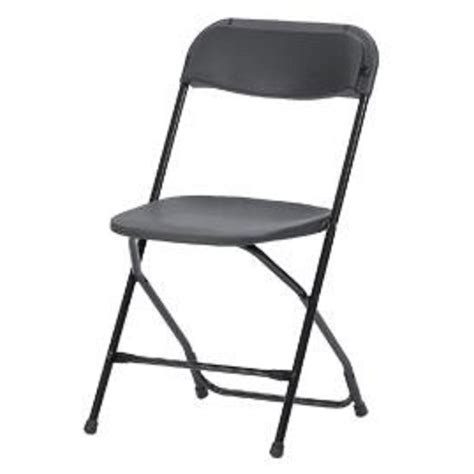 foldable chairs cosco vinyl seat and back folding chairs in black 4 pack