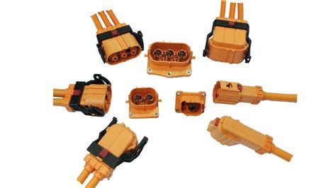 high voltage automotive connectors hvc 8mm series high current connectors henol