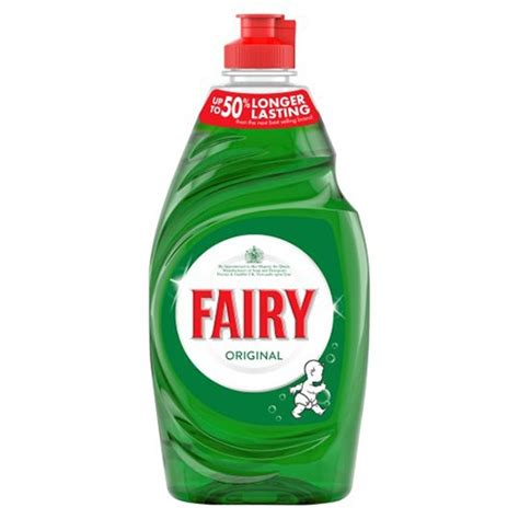rs3 spring cleaner fairy original washing up liquid 433ml